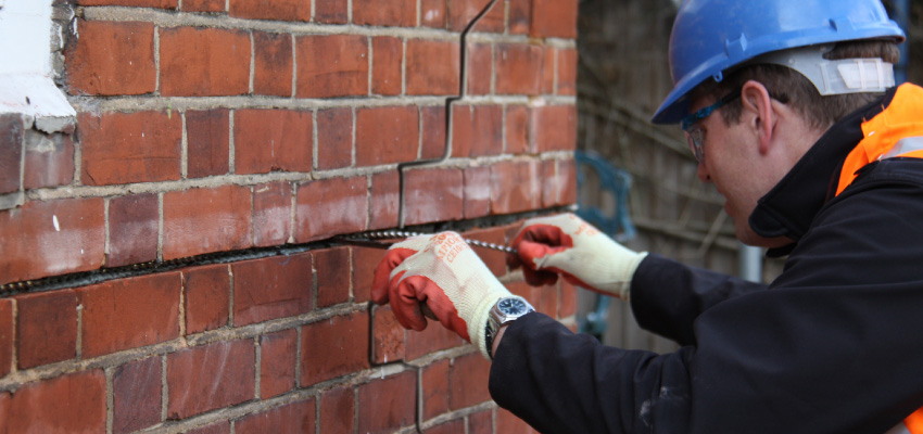 Associated Building Services - Crack Stitching